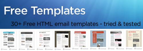 recursos web tempaltes para correos electrónicos